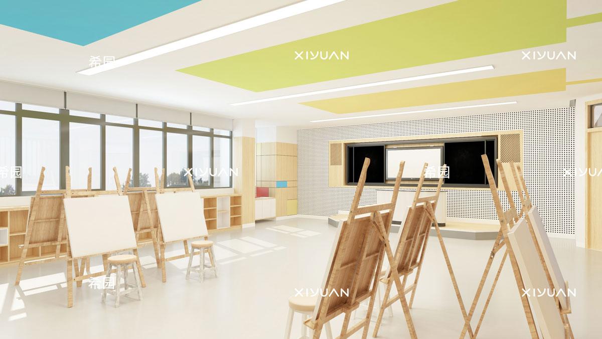 幼儿园设计-美术室