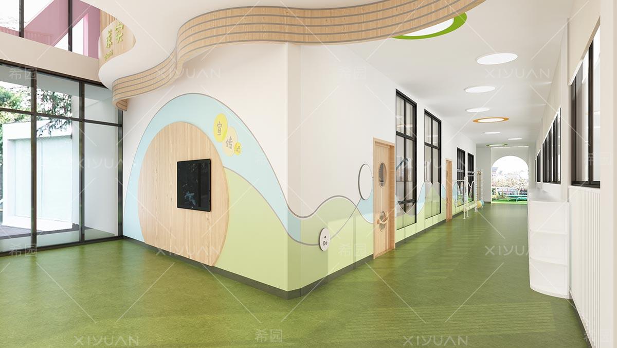 大厅的墙壁