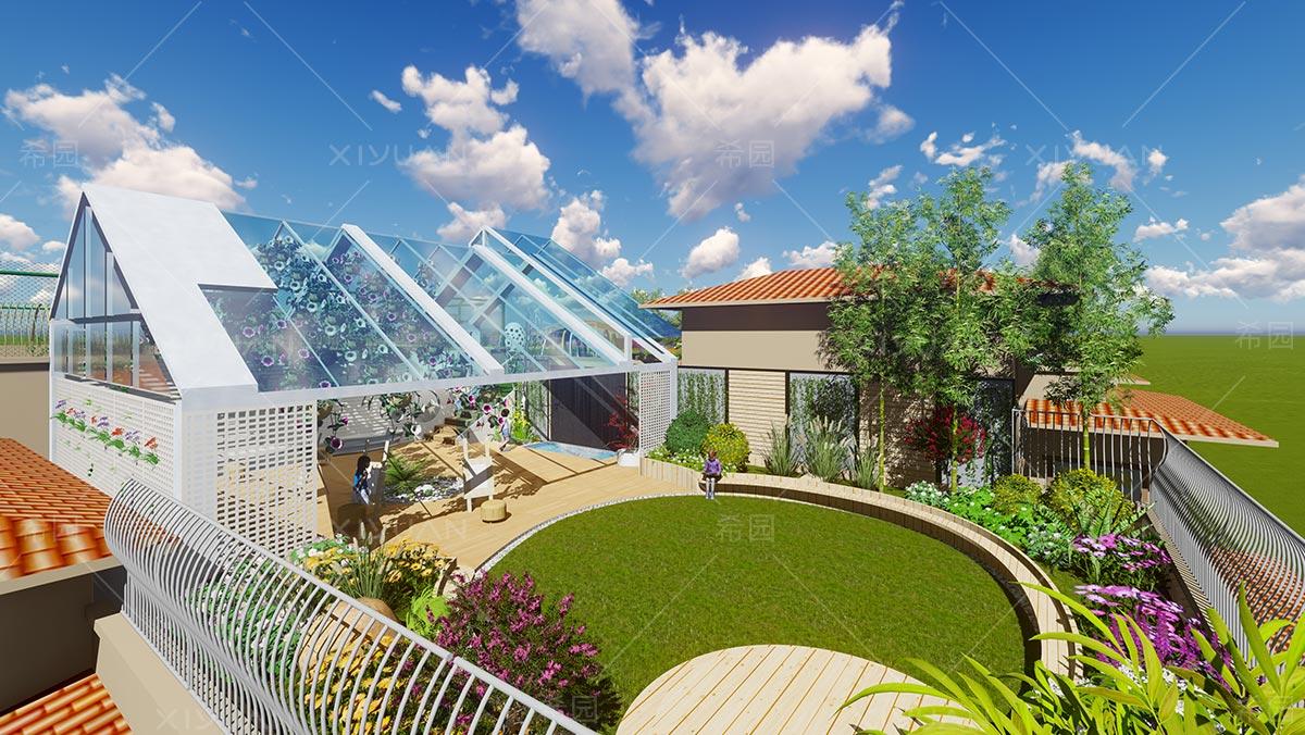 幼儿园屋顶设计