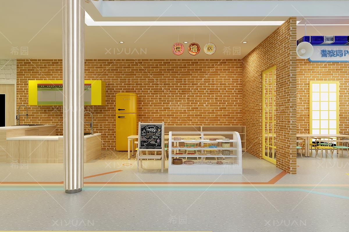 幼儿园烘焙室设计