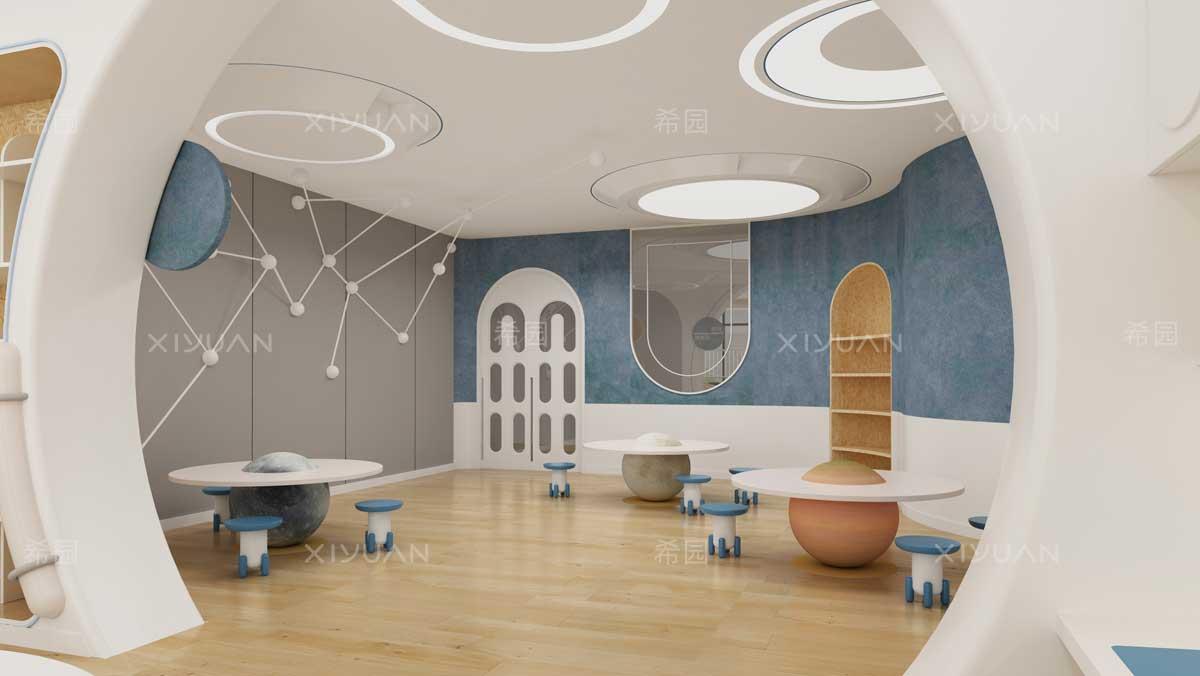 幼儿园设计风格