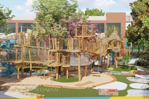 幼儿园户外设计如何布局?