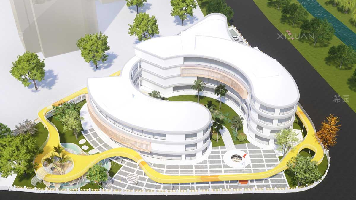 优秀幼儿园建筑设计案例