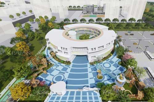 滨河西路幼儿园建筑设计方案一