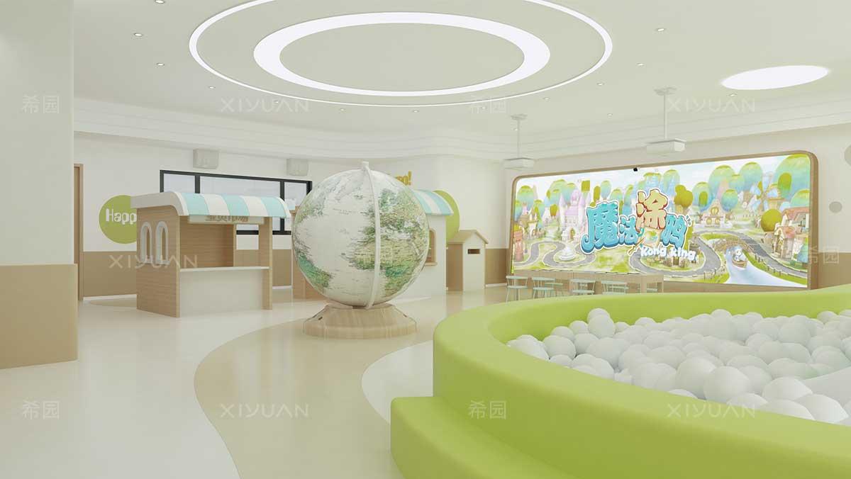 童玩区幼儿园设计