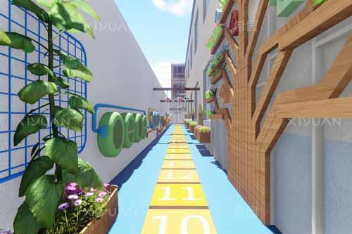 幼儿园外墙面装饰如何设计?