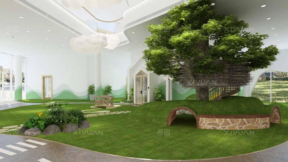 幼儿园室内外装修设计