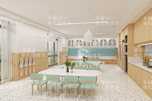 幼儿园餐厅设计应遵循什么原则?