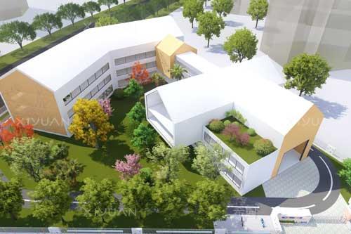 胜利路幼儿园建筑设计方案二