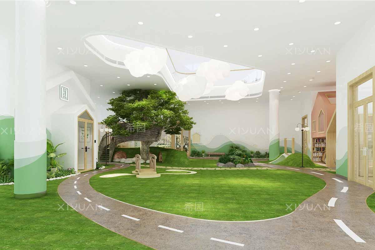 幼儿园大厅建筑设计方案