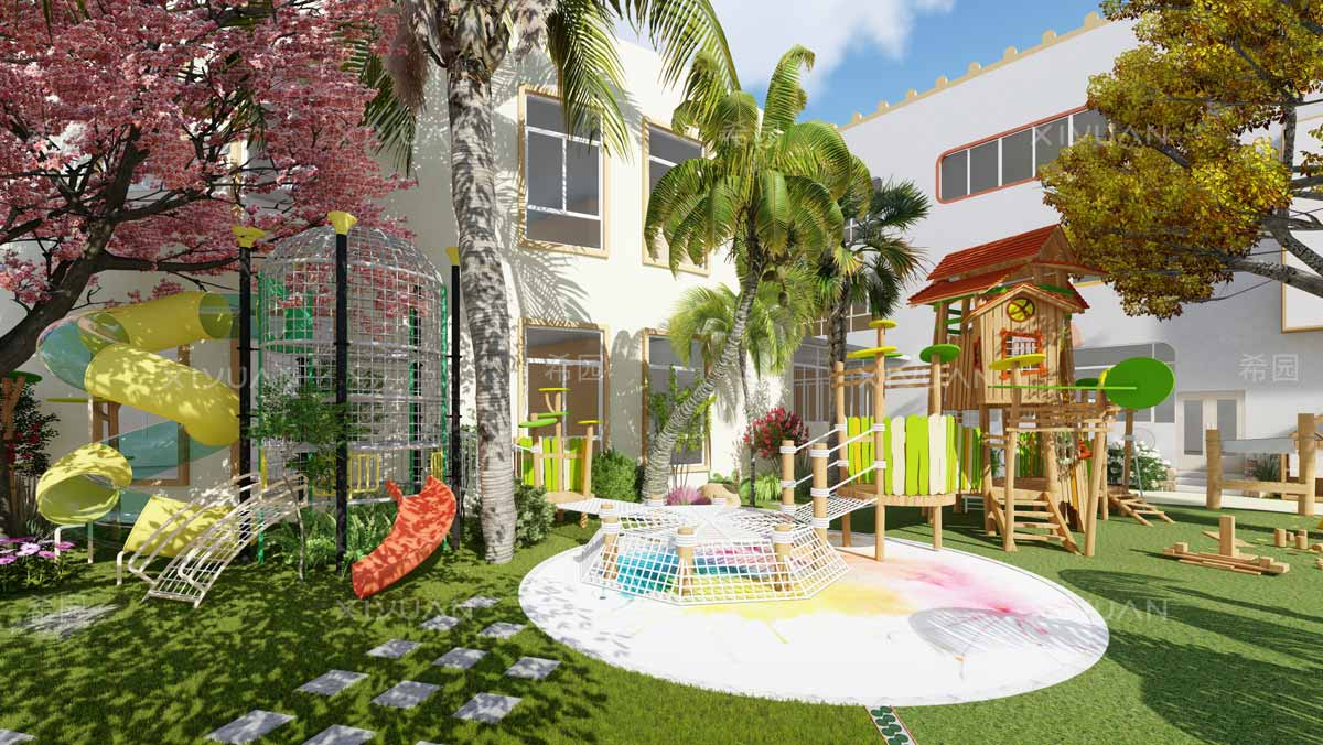 幼儿园户外活动场地设计
