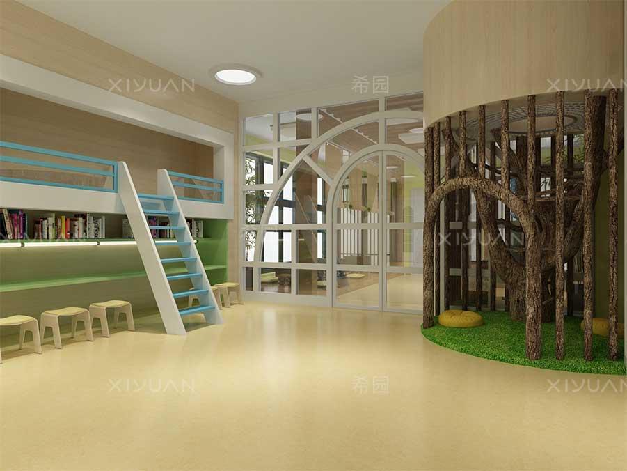 幼儿园绘本馆装修设计