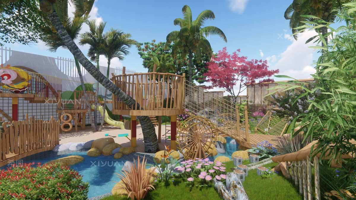 幼儿园沙水池设计