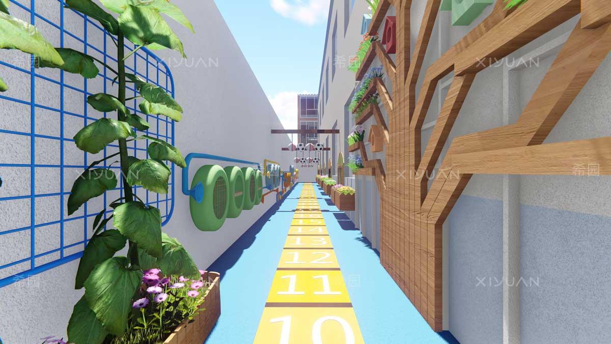 幼儿园外墙面装饰设计