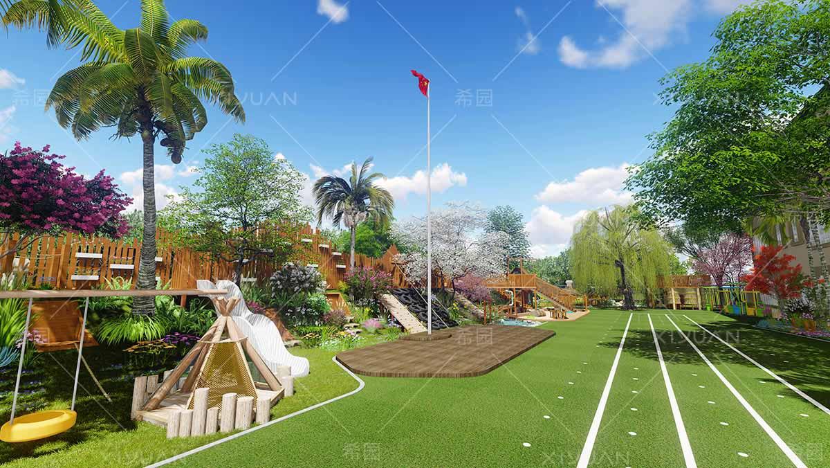 幼儿园草坪设计