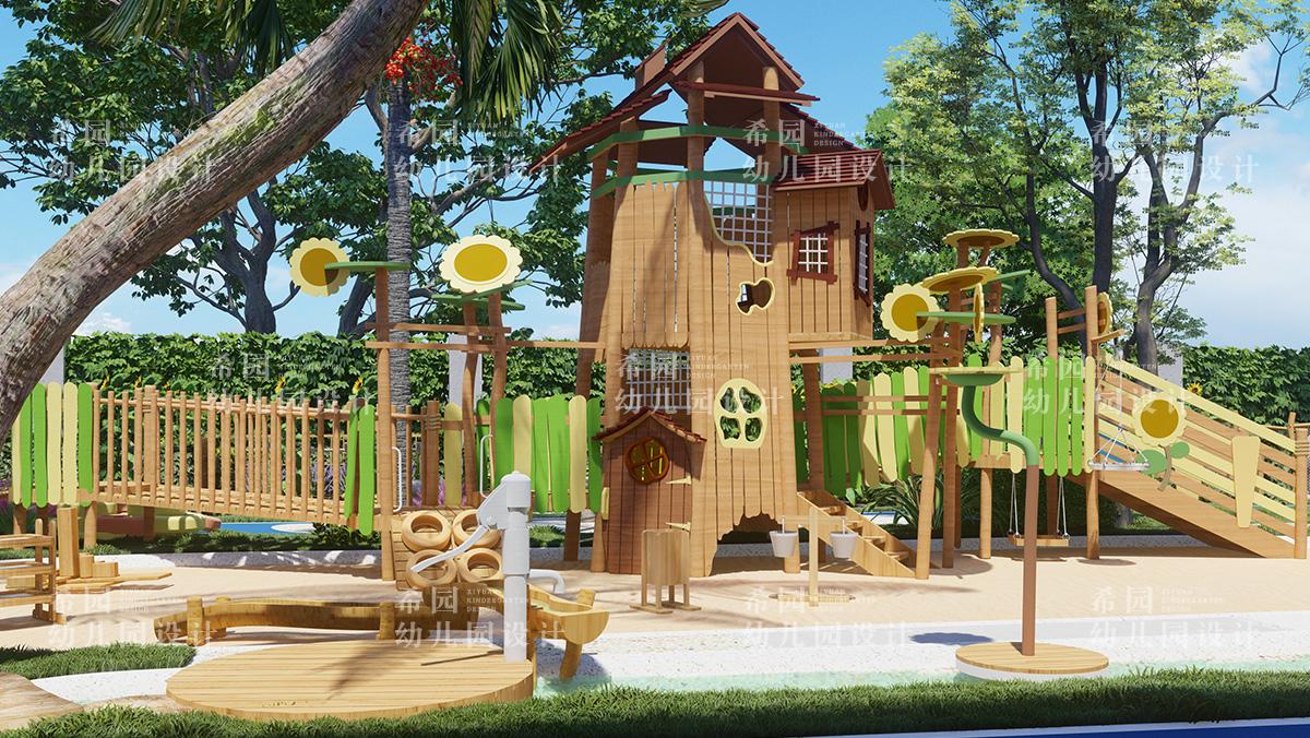 幼儿园户外亲子活动空间设计要点