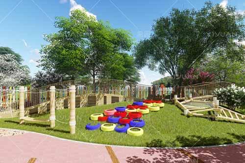 如何打造幼儿园户外情景式活动空间?