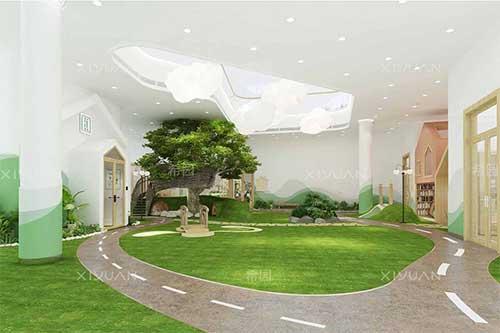 室内空间室外化——泰禾北京区域大兴幼儿园