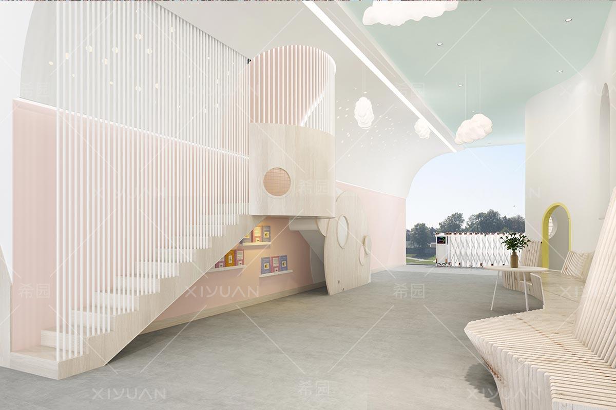 幼儿园楼梯间设计