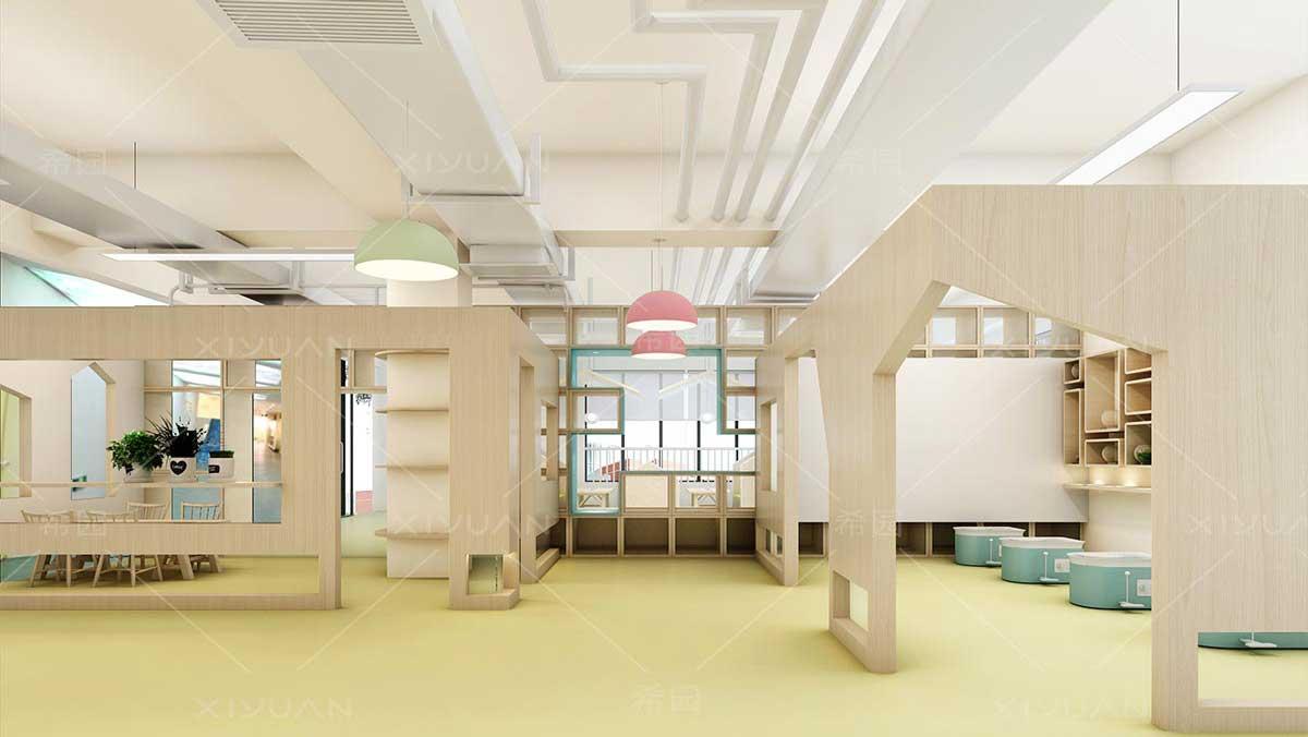 幼儿园装修设计风格打造