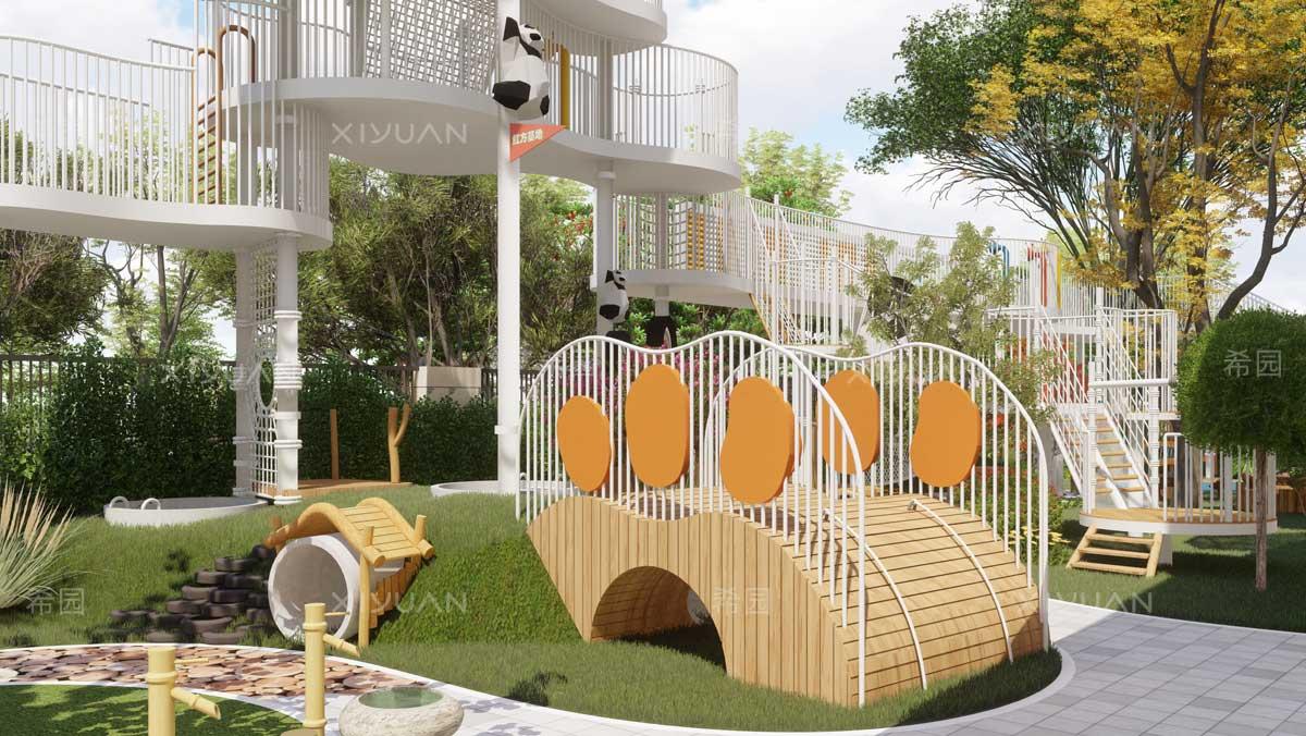幼儿园攀爬区
