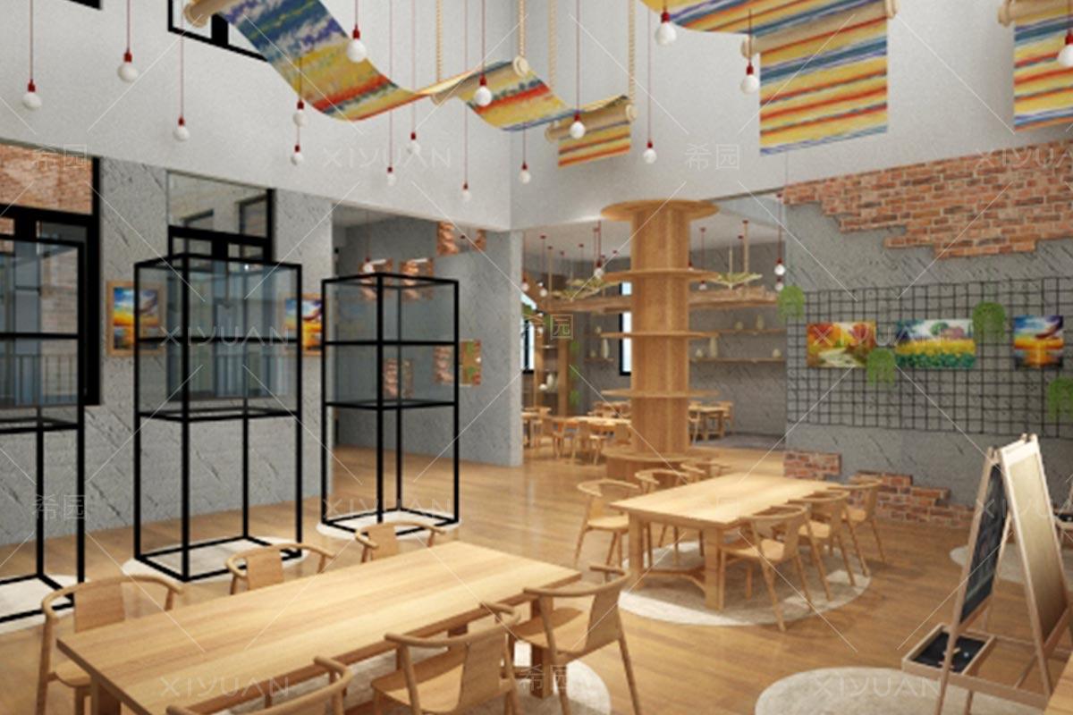幼儿园美劳室设计