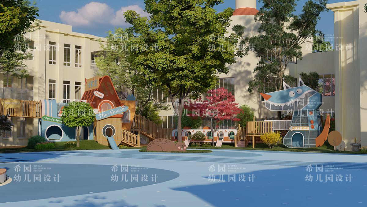 幼儿园操场设计三要素
