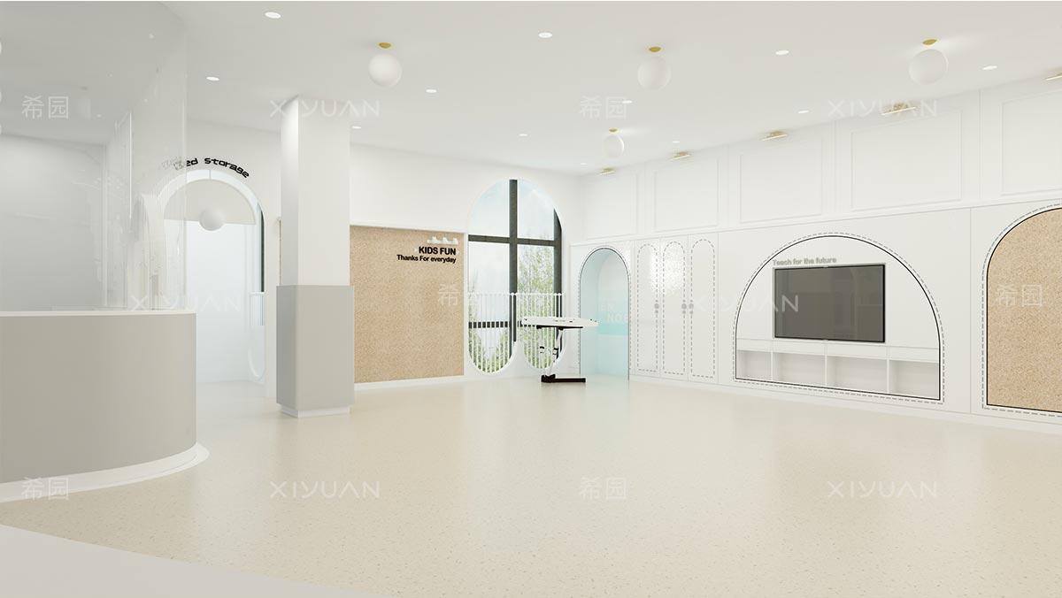 幼儿园活动室建筑设计方案