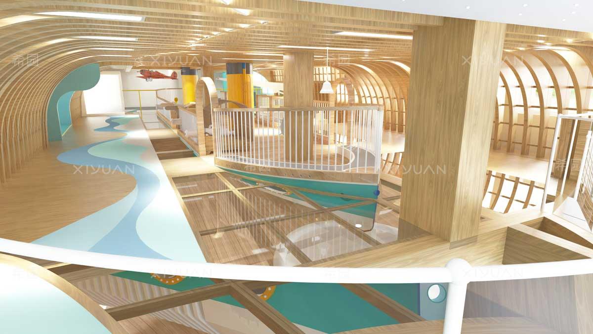 幼儿园设计-龙骨探索区域
