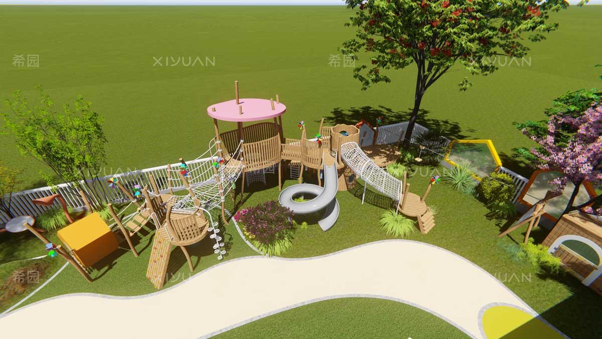 幼儿园户外设计