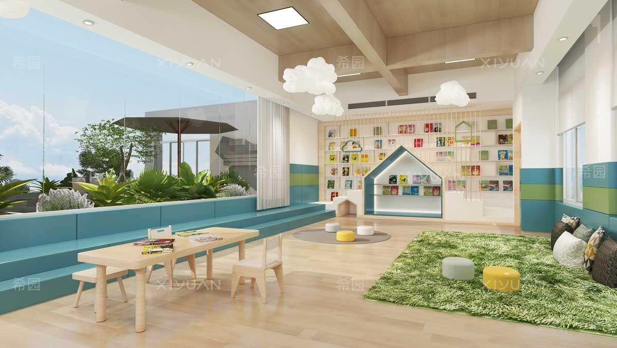 幼儿园阅读区环境