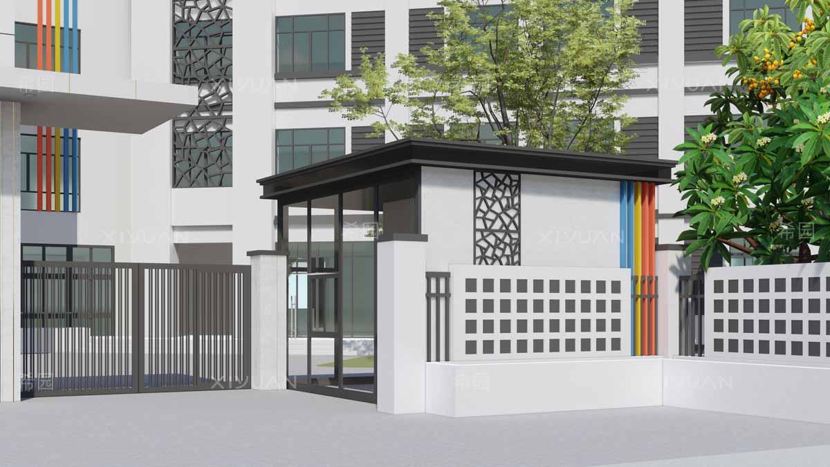 幼儿园门卫室设计