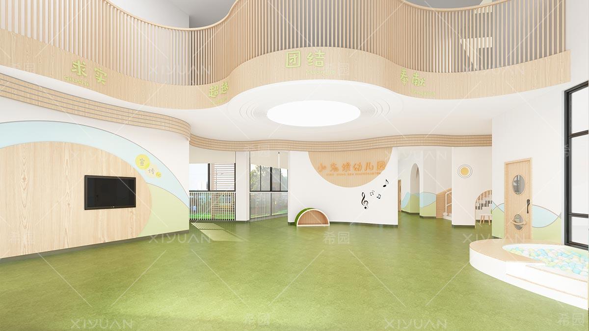 幼儿园大厅装修设计