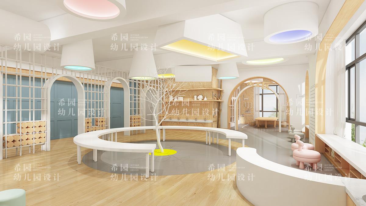 幼儿园室内设计中色彩搭配的三点原则