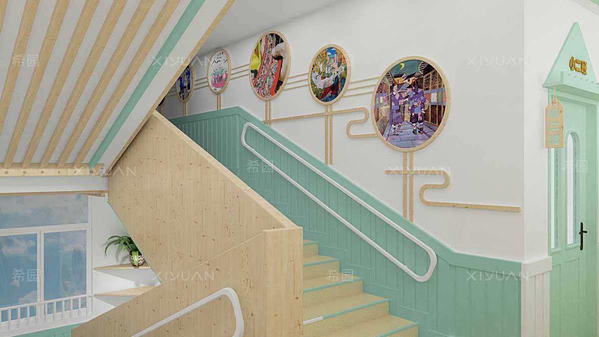 幼儿园楼梯装饰设计