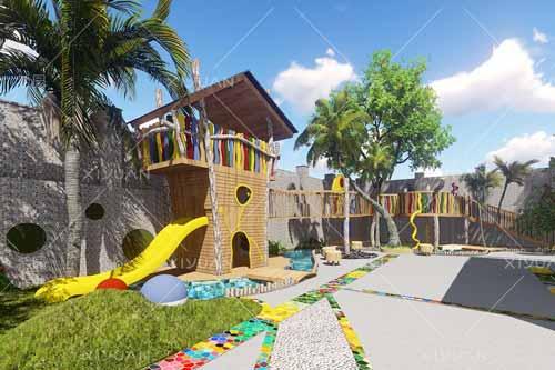 价值近300000000元的米罗作品就隐藏在这个幼儿园里——闽江师范幼儿园
