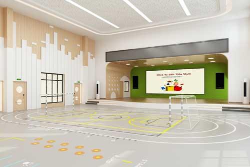 幼儿园多功能厅怎么设计呢?