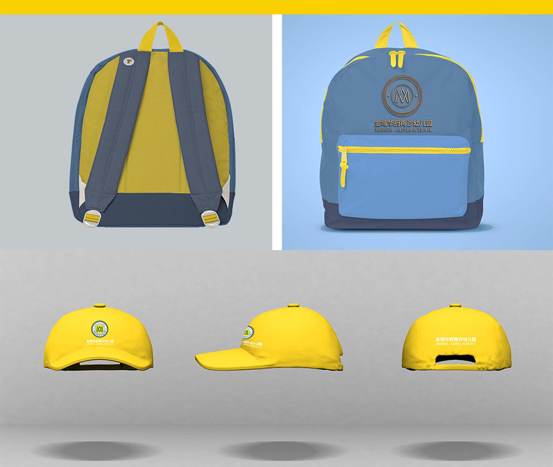 背包、帽子设计