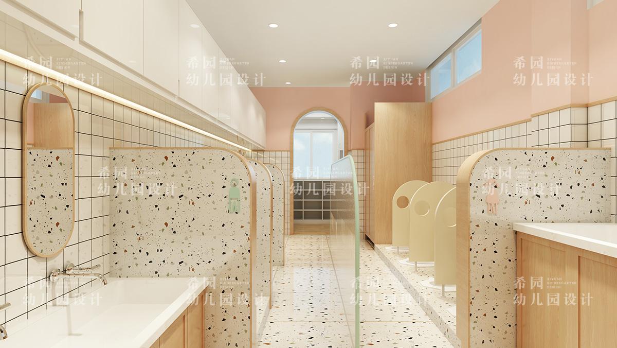 幼儿园盥洗室设计你要注意这几点
