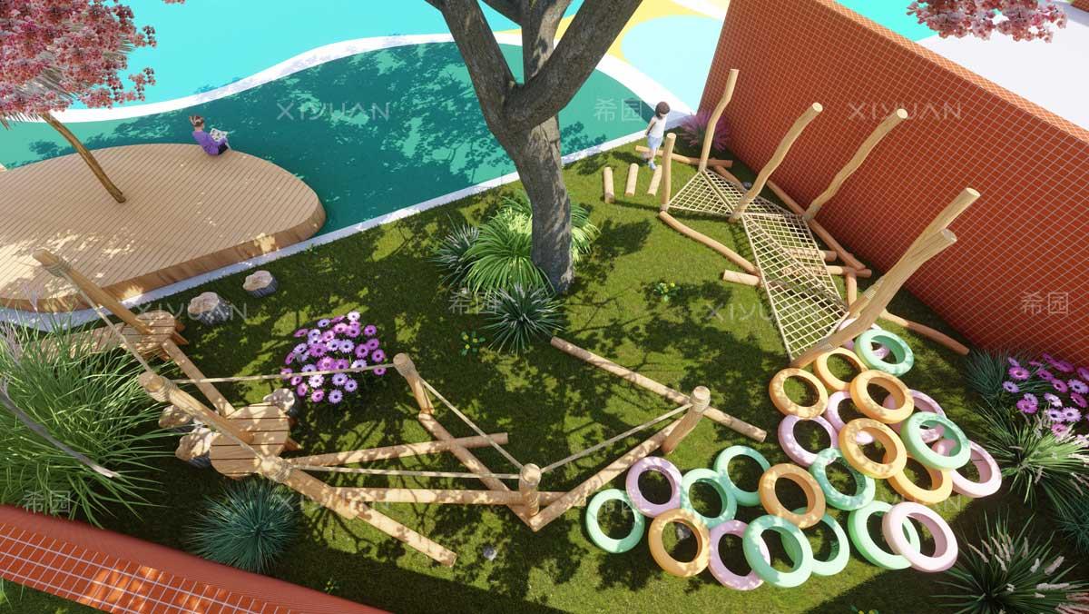 幼儿园场地设计