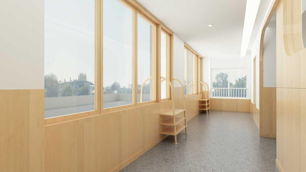 幼儿园窗户设计