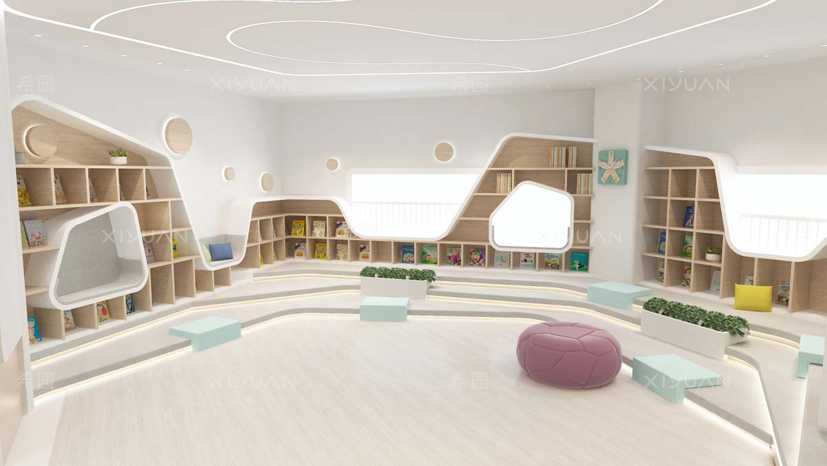 幼儿园室内设计效果图