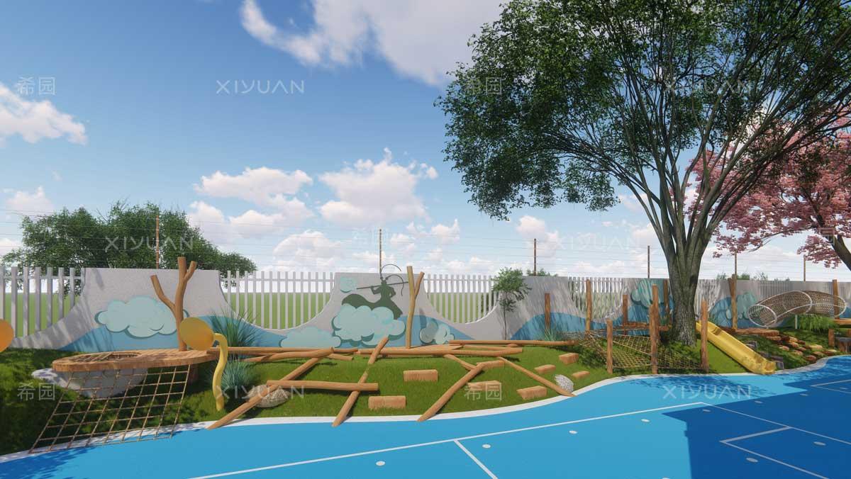 幼儿园攀爬区设计